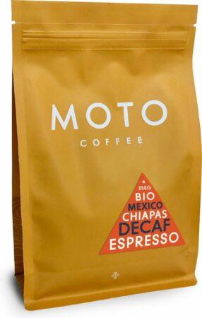 Afbeelding van Moto Coffee Decaf Koffiebonen - 350 gram - biologisch