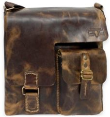 Handtasche Umhängetasche I Leder 30 cm Mika Lederwaren vintage