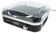 K Ö NIG USB Plattenspieler mit Lautsprecher - König