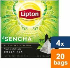 Lipton - Groene Thee Sencha - 4x 20 zakjes