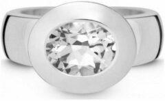 QUINN - Ring - Dames - Zilver 925 - Edelsteen - Witte topaas - Breedte 56 - 21002620
