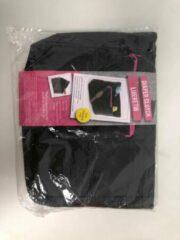 Merkloos / Sans marque Luieretui - zwart met roze