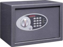 Grijze Phoenix Sleutelkluis met Elektronisch Slot Vela Home & Office SS0802E 350 x 250 x 250 mm Metaliek Grafiet