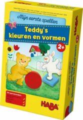 Haba Spel - Mijn eerste spellen - Teddy's kleuren en vormen (Nederlands) = Duits 5878 - Frans 5975