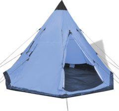 Blauwe VidaXL Tent 4 personen blauw