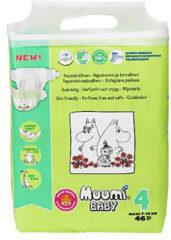 Eco Muumi Baby luiers maat 4 - 7-14 kg - ecologisch - ecologische - luier
