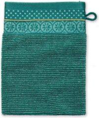 Pip Studio badgoed Soft Zellige groen - Washand 16x22 cm