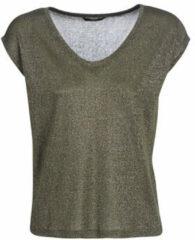 ONLY glitter T-shirt Silvery olijfgroen
