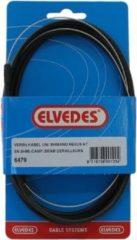 Roestvrijstalen Elvedes versn kabel Nexus rvs zw