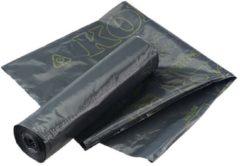 Zwarte Vuilniszakken (20x) 60x80 cm met Komokeur