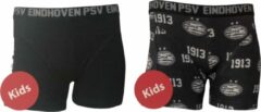 Grijze PSV Boxershort 2-Pack - Maat 104-110