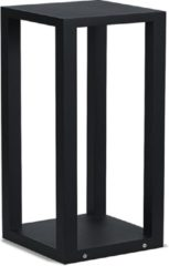 Merkloos / Sans marque Artdelight Buitenlamp Kenton H 40 cm B 20 cm zwart