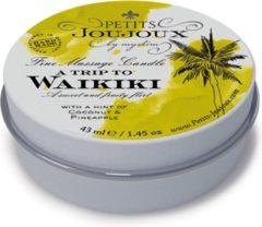 Petits Joujoux - Massagekaars Waikiki 33 gram