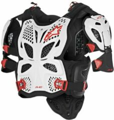 Alpinestars Body Protector A-10 White/Black/Red-XS/S