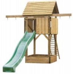 Woodvision Speeltoren Compact met Geïntegreerde Zandbak