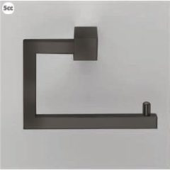 Zwarte Decor Walther toiletrolhouder CO TPH3 CORNER mat zwart