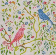 Colourful Life Servetten Magical Birds 33 x 33 cm