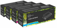 Inktmedia® - Toner Cartridge - Alternatief Voor De Hp Multi Pack 126a Hp Ce310a Tot Ce313