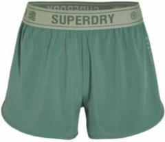 Superdry Sport sportshort groen