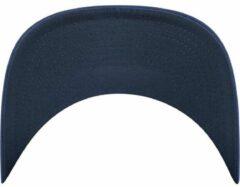 Marineblauwe Flexfit by Yupoong Flexfit/Yupoong - Cool & Dry Mini Pique - Kleur Marine - 110P