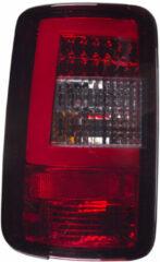 Rode Universeel Set LED Achterlichten Volkswagen Touran 2003-2006 & Caddy II 2004- - Rood/Smoke