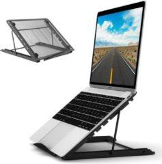 Sirius Choice - Universele Ergonomische Laptop Standaard 10-17''inch - Laptop Houder - Voor Thuiswerken en op Kantoor - Laptop steun - Tablet Houder/Standaard - Geschikt voor Macbook/Laptops/IPad/Tablets/Notebook/E-Reader - Boekenstandaard - Zwart