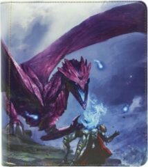 Dragonshield Dragon Shield Card Codex Zipster Binder Small Purple 'Amifist'