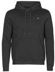 Zwarte Sweater G-Star Raw PREMIUM BASIC HOODED SWEATE
