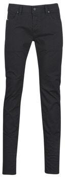 Afbeelding van Zwarte Diesel slim fit jeans Sleenker