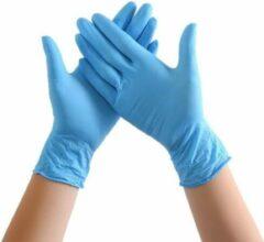 Lichtblauwe TrendX Nitril Handschoenen - Hemelsblauw - Maat S - Powder-free - Handschoenen Wegwerp - Doos van 100 Stuks