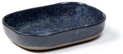 Serax Merci Diep Bord N°7 - M - 14,5 x 10,5 cm – Blauw/Grijs