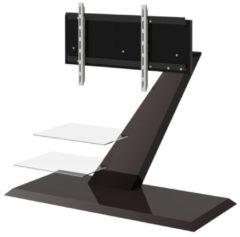 Hubertus Meble Tv-meubel Vento 110 cm breed in hoogglans bruin