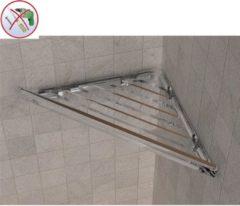IBB Spa Angolare doccia BRIXIA AD INCOLLO 32,7x16,10xh3,3cm in ABS Trasparente