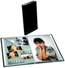 Rillstab Showalbum Soft Touch A4 Zwart Kunststof 50 Hoezen