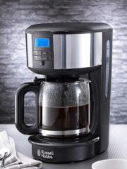 Russel Hobbs Kaffemaschine mit Glaskanne Chester Russell Hobbs silber