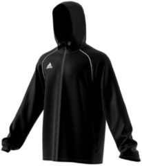 Sportliche Trainingsjacke Core 18 mit hohem Kragen CV3695 adidas performance black/white