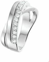 Quickjewels huiscollectie Huiscollectie 1313387 Zilveren fantasie zirkonia ring