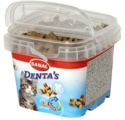 Sanal Denta's Cat Treats - Kattensnack - 75 g