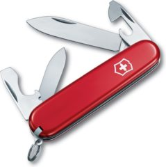Rode Victorinox Recruit 0.2503 Zwitsers zakmes Aantal functies: 10 Rood