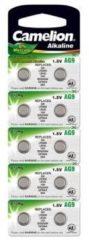 10 x AG9 Button Cells Battery LR936, LR45, G9, 194, GP94A, 394, SR936W Camelion