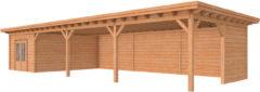 Woodvision Douglasvision | Buitenverblijf Prestige | 1400 x 500 cm