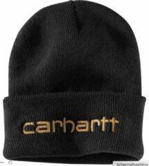 Carhartt Teller Hat Geïsoleerde gebreide muts - Zwart