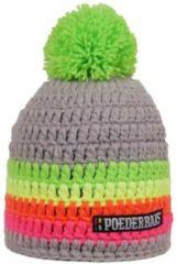 Poederbaas Short Colorfull Unisex Muts - Grijs, Roze, Groen, Geel, Oranje - One Size