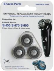 Universeel Rasierkopf für Rasierer SH50, SH70, SH90, 4313042732010
