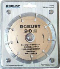 Doorslijpschijf Diamand Robust XSRB-0005 115Mm X 22,2Mm X 1,8Mm Open
