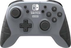 Hori Draadloze Pro Controller - Officieel Gelicenseerd - Nintendo Switch + Lite - Grijs