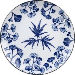 Blauwe Tokyo Design Studio - Flora Japonica Plate 25.7x3cm Maple