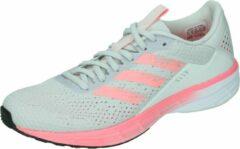 Licht-grijze Adidas sl20 summer ready hardloopschoenen grijs dames