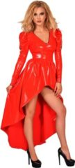 Rode Guilty Pleasure Fetish Wear GP DATEX MISTRESS DRESS RED, M