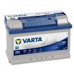 Varta Start-Stop Blue Dynamic EFB 565 500 065 D54 12V 65 Ah 650A/EN Start Accu 4016987144558